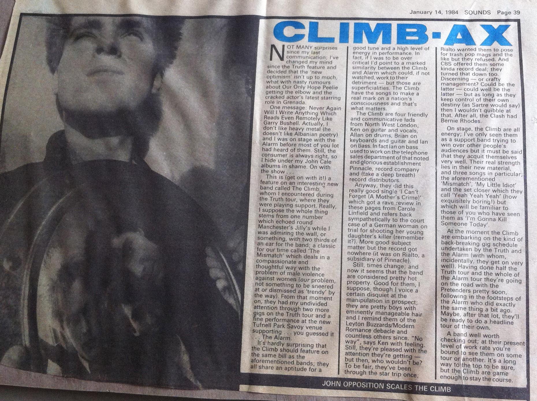 sounds 14 jan 1984 i