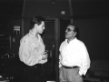 Ken with Tommy Lipuma NYC 90