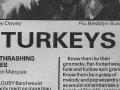 Turkeys NME 5th Oct 1985 b